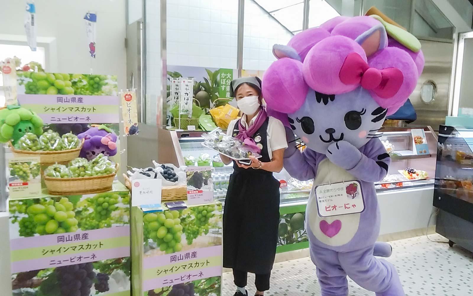 岡山県産ぶどうフェア